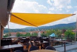 Sonnensegel für den Balkon