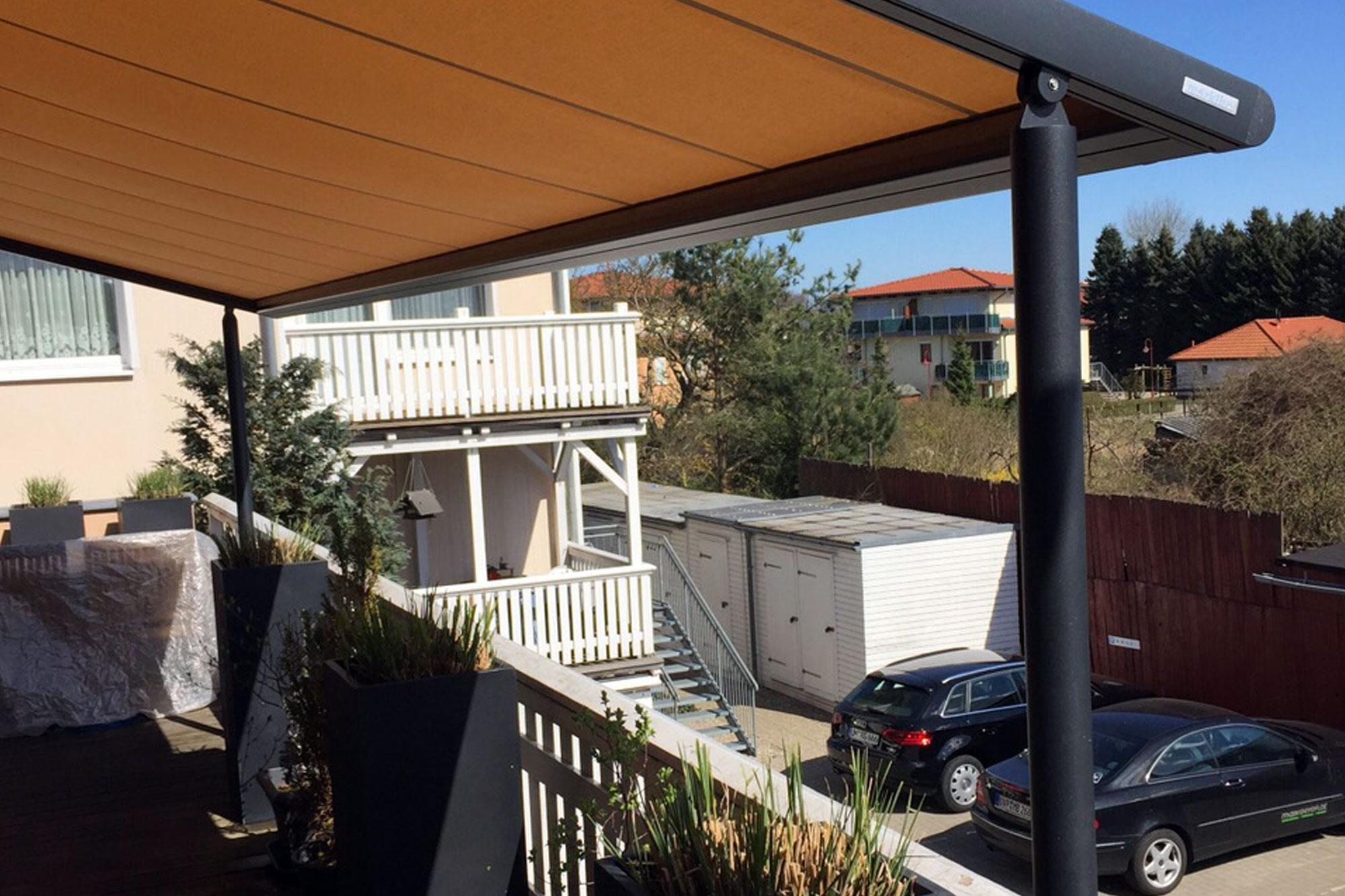 Balkonmarkisen Hohmann Sonnenschutz