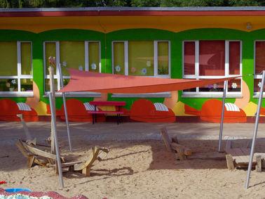 Sonnensegel Sandkastenabdeckung