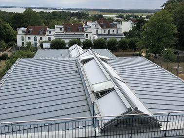 Dachbeschattung, klein aber fein
