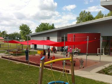 Sandkastensegel, Kindergarten Karlsburg