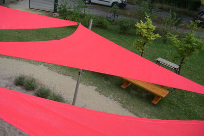 Sandkastensegel für Kindergarten in Berlin - Kita Lolek