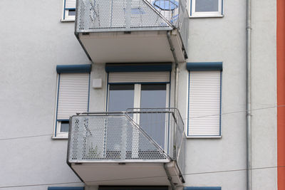 Rolläden am Balkon