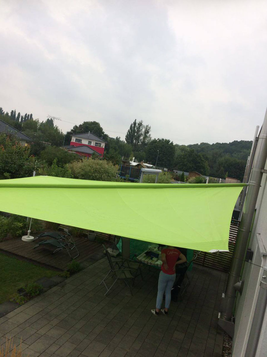Sonnensegel Privat Hohmann Sonnenschutz