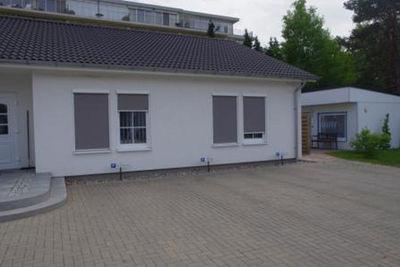 Steuerbüro Insel Usedom, Sonnen und Blickschutz- jedoch Ausblick von Innen möglich