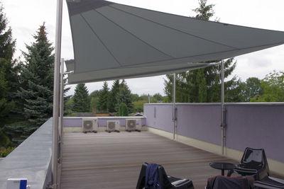 Dachterrasse  Berlin - vollautomatisches Sonnensegel