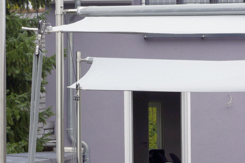 Wundervoll Sonnenschutz Dachterrasse Ideen Von Berlin - Vollautomatisches Sonnensegel