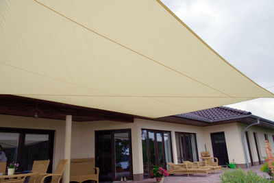 Sonnen- und Lounge Segel Güstrow - Vollautomatisch, Fläche: 50 qm