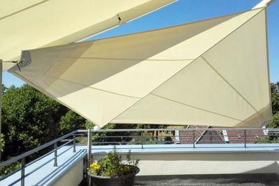 Aufrollbares Sonnensegel für Dachterrassen