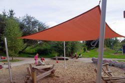 Sonnenschutz Spielplatz - praktisch und optisch ansprechend