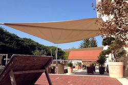 aufrollbares Sonnensegel für Terrasse