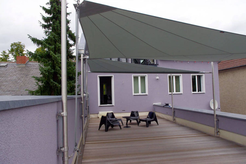 sonnensegel balkon hohmann sonnenschutz. Black Bedroom Furniture Sets. Home Design Ideas