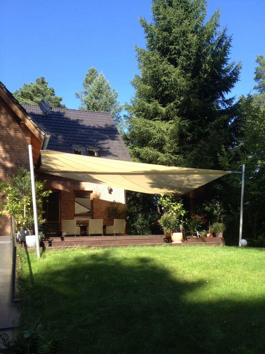Sonnensegel garten hohmann sonnenschutz for Garten idee schatten
