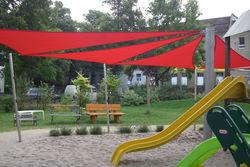 Sonnensegel Spielplatz - praktisch & hübsch