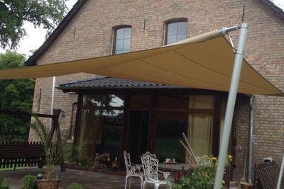 Sonnensegel für die Terrasse